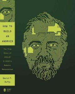 La strana storia dell'androide Philip K. Dick, copertina originale